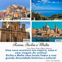Roma, Sicília e Malta
